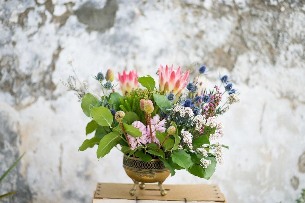 Floristeria Cotton Candy ramos y centros en cadiz