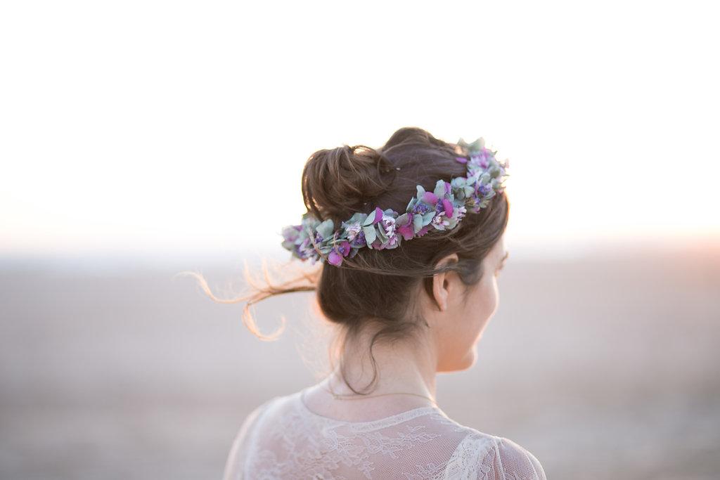 Floristeria Cotton Candy tocados y diademas bodas en cadiz