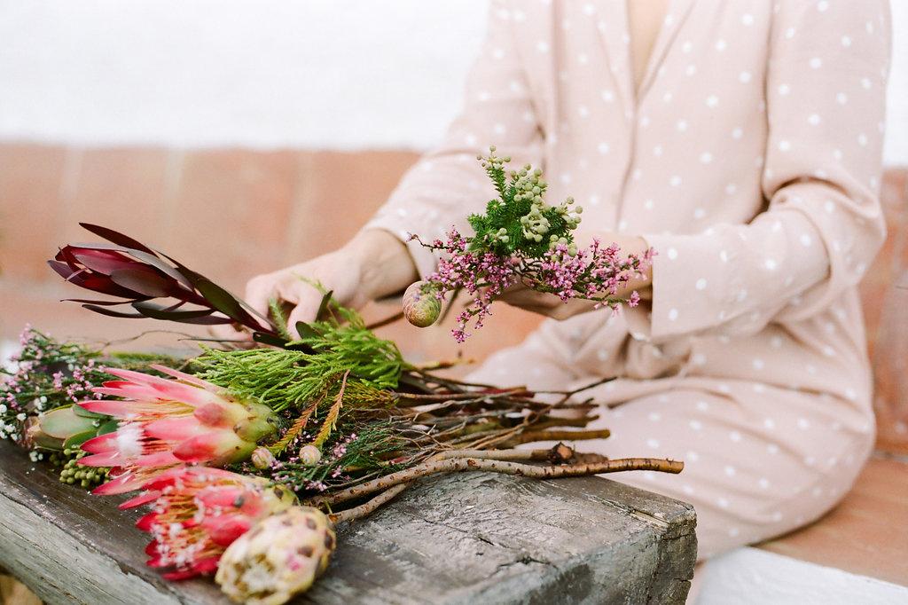 Floristeria Cotton Candy talleres de flores cadiz