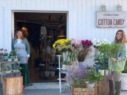 Las socias de Floristería Cotton Cand