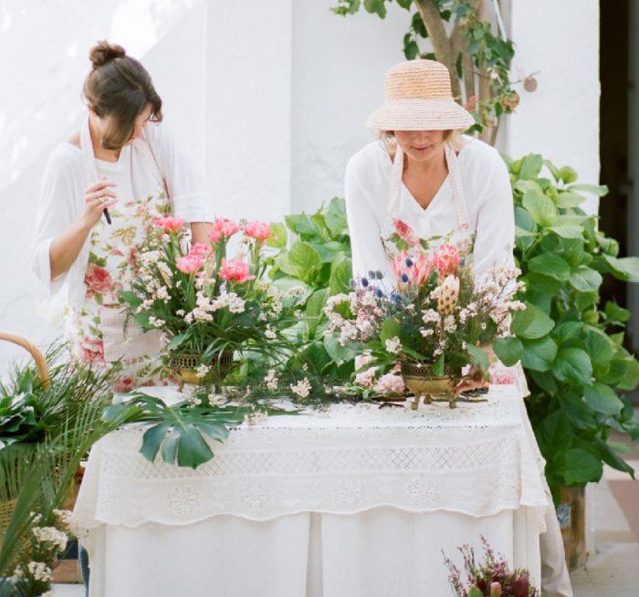 Flower decoration for weddings