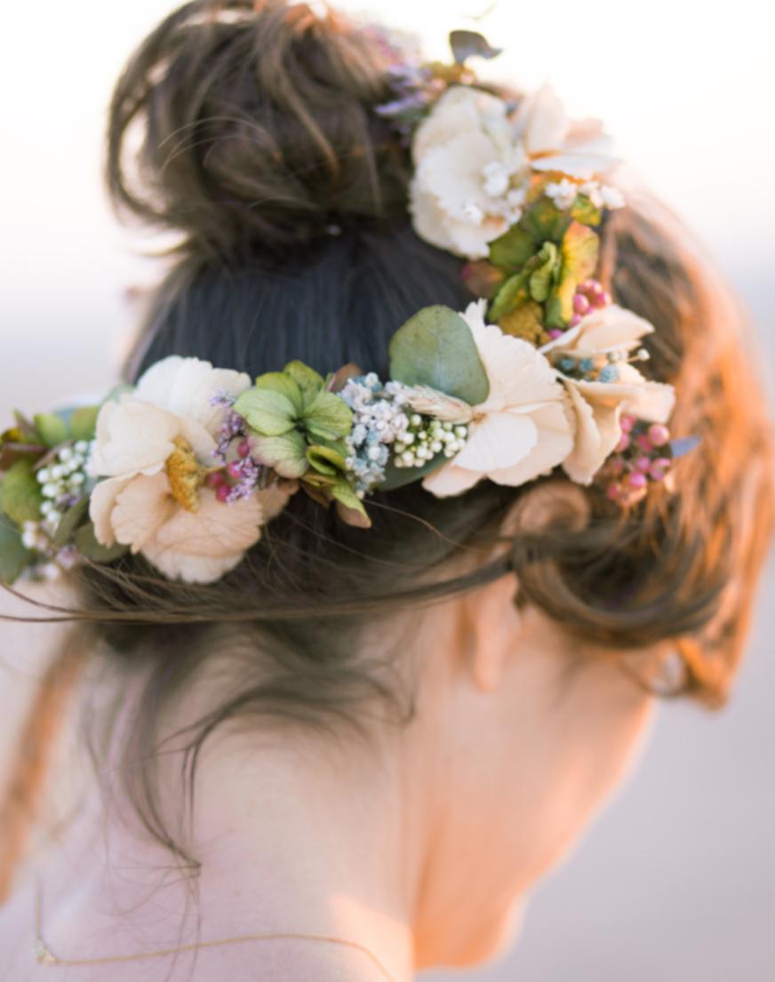 Bride headdress