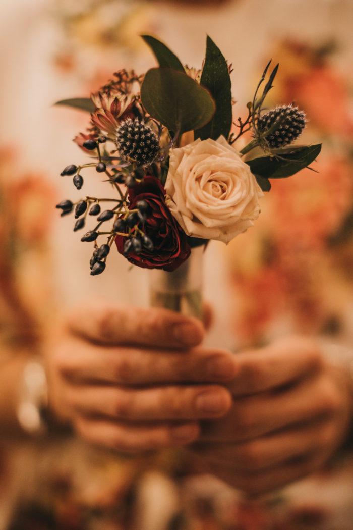 Detalles florales para bodas