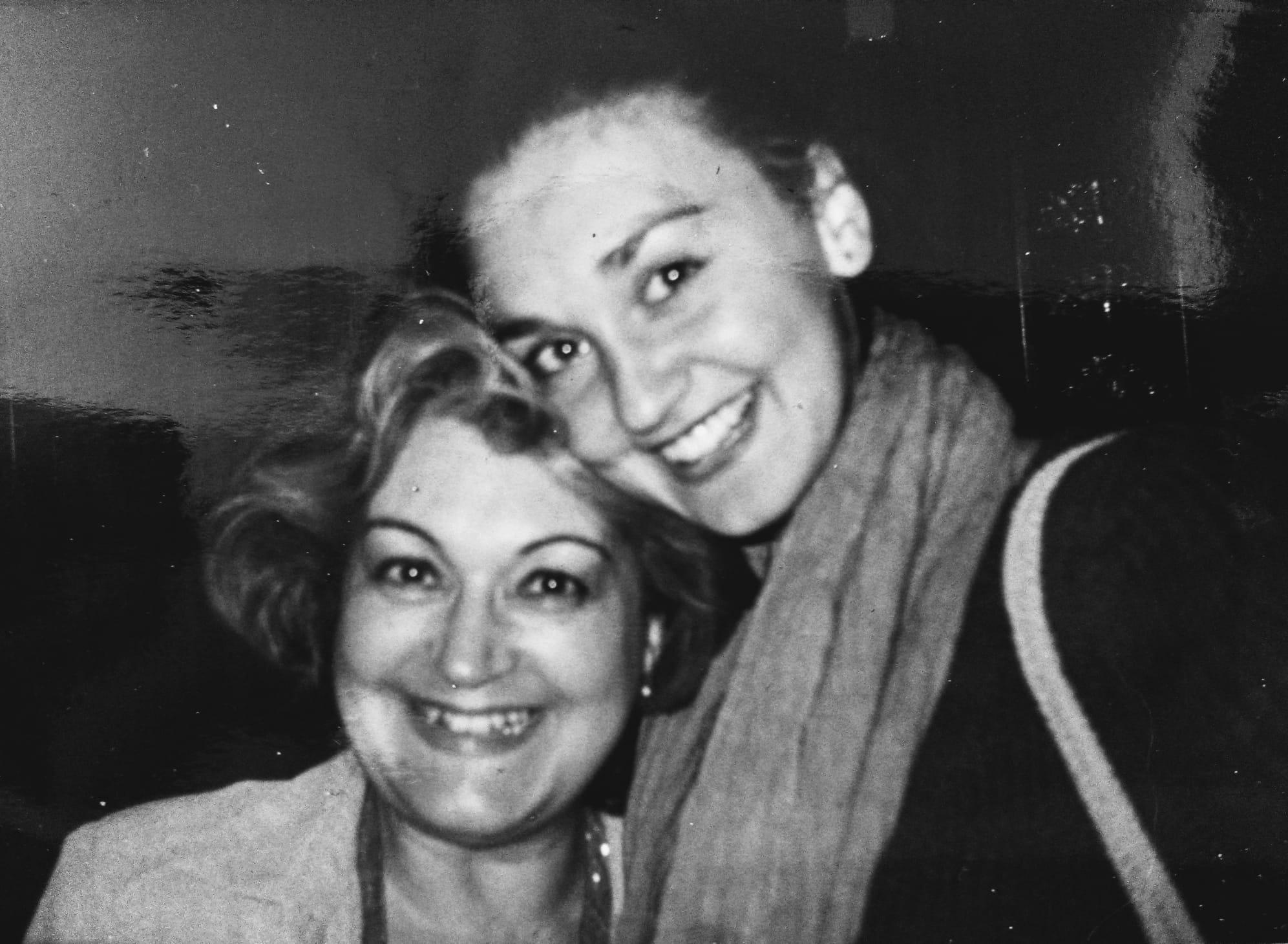 Carolina y su madre